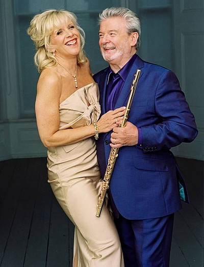Image of Sir James Galway and Lady Jeanne Galway, who will be performing on November 10th, 2013.