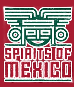 Promotional graphic for the Spirits of Mexico Festival on September 17th to 21st, 2013.