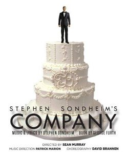 "Promotional graphic for Stephen Sondheim's ""Company,"" the Award-Winning Musical Comedy from July 5 - August 18, 2013."