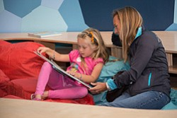 Promotional image of Story Time at New Children's Museum.