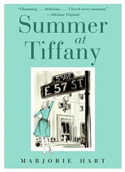 "Book cover of ""Summer at Tiffany"" by Marjorie Hart."