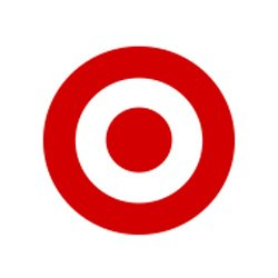 Graphic logo for Target.