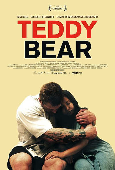 "Promotional graphic for the film ""Teddy Bear."""