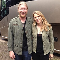 Image of Derek Trucks and Susan Tedeschi who will be performing at Balboa Theatre on December 4, 2013.