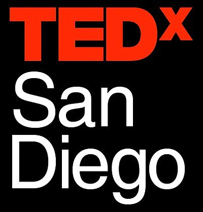 Promotional graphic for TEDxSanDiego.