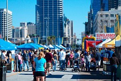 Promotional image of The San Diego Big Bay Whale Festival.