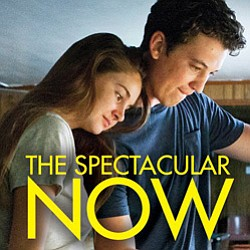 "Promotional image of ""The Spectacular Now"" playing at the Mission Valley Branch Library."