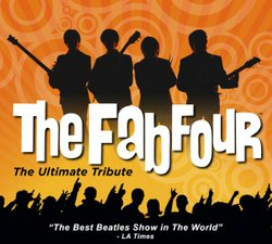"Promotional image for The Fab Four - ""The Ultimate Beatles Tribute"""