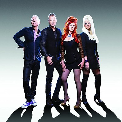 Image of The b-52s, who will be performing at the Del Mar...