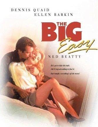 "Promotional graphic for the film, ""The Big Easy."""