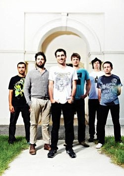 Image of the band, Cat Empire.