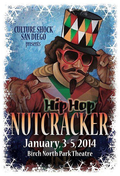 "Promotional image of The Culture Shock ""Nutcracker - A Hip Hop Theatrical"" from January 3-5, 2013. Photo Credit: Ralph Lovuolo Photography"