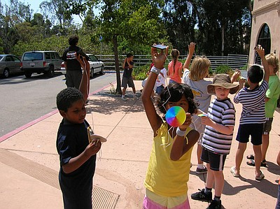 Image of children attending the Energy Explorers Summer Camp at The Fleet. Courtesy of The Fleet.