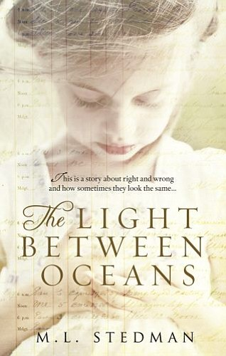 "Cover image for the book, ""The Light Between Oceans"" by M.L. Stedman."