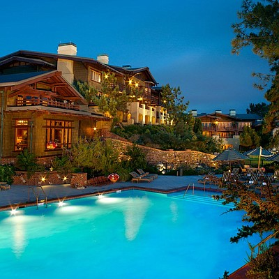 Exterior image of The Lodge at Torrey Pines.