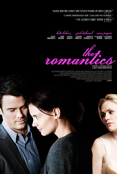 "Promotional graphic for the film, ""The Romantics"""