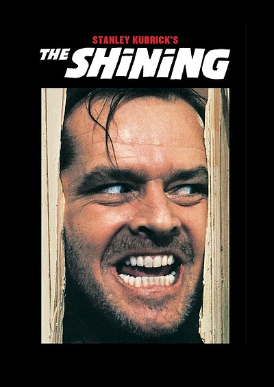 "Promotional photo for the film, ""The Shining."""