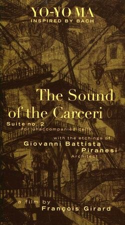 """Promotional graphic for the film, """"The Sound of the Carceri."""""""
