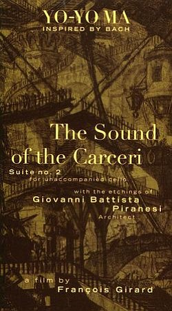 "Promotional graphic for the film, ""The Sound of the Carceri."""