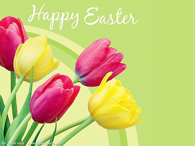 Promotional graphic for the Easter Buffet at The US Grant Hotel on Sunday, March 31st, 2013.