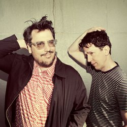Image of They Might Be Giants, who will be performing at the Belly Up on June 16th, 2013.