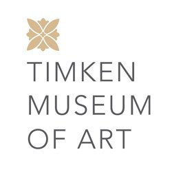 Graphic logo for Timken Museum of Art.