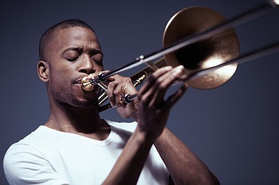 Promotional photo of Trombone Shorty. Courtesy of Scripps Health