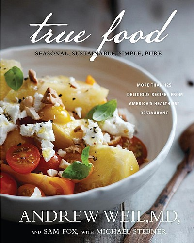 Promotional graphic for True Food Kitchen.