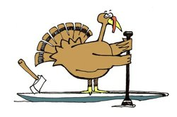 Promotional graphic for the 4th Annual Turkey Paddle. Courtesy of San Diego Canoe Kayak Team.