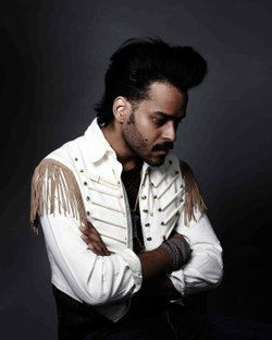 Image of Twin Shadow, who will be performing at the Belly Up on May 22nd, 2013.