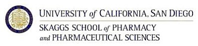 Promotional graphic for the UCSD Skaggs School of Pharmacy.