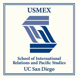 Graphic logo for the Center for U.S.-Mexican Studies at UCSD.