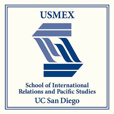 Graphic logo for Center for U.S.-Mexican Studies at UCSD.