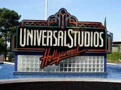 Image of Universal Studios Theme Park sign.