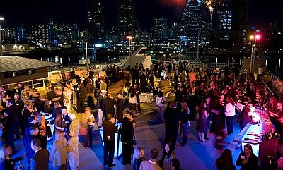 Promotional graphic for the New Year's Eve VIP Celebration Dinner Cruise. Courtesy of Hornblower Cruises & Events San Diego.
