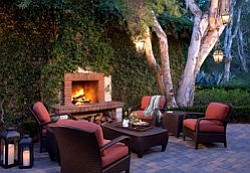 Image of Veranda Fireside Lounge at Rancho Bernardo Inn.