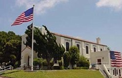 Exterior image of the Veterans Museum and Memorial Center.