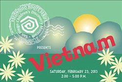 Promotional image of San Diego Children's Discover Museum's  Escondido Roots Series: Vietnam on February 23rd.