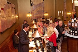 Promotional image of Toast Enoteca's 2013 VinItaly. Image from a previous year. Courtesy of  Toast Enoteca & Cucina.