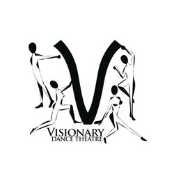 Graphic logo for the Visionary Dance Theatre.