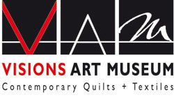 Graphic logo for Visions Art Museum.