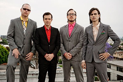 Image of Weezer, who will be performing at the Del Mar Ra...