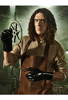 "Image of ""Weird Al"" Yankovic who will be performing at the 2013 San Diego County Fair on July 1st, 2013, courtesy of the Del Mar Fairgrounds."
