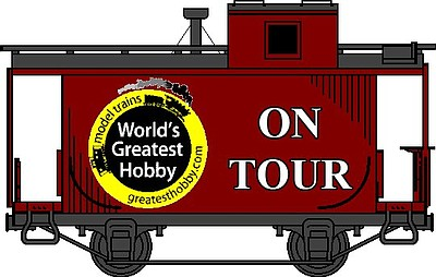Promotional graphic for the World's Greatest Hobby on Tour coming to San Diego February 9th & 10th, 2013. Courtesy of the World's Greatest Hobby on Tour.