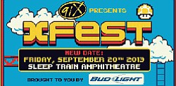 Promotional Graphic For 91X X Fest 2013 On September 20th
