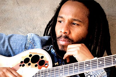 Image of Ziggy Marley, who will be performing at the Reggae Fest on August 31st, 2013 at the Del Mar Racetrack.