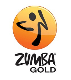 Promotional image for Zumba Gold at the University Community Branch Library.