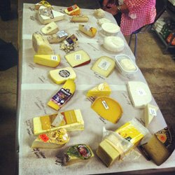 """Promotional image of cheese for Alchemy of the Hearth's """"All About Cheese"""" class. """"Explore the magic of cooking - hands on classes for adults, teens and children"""" 760-233-2433. Courtesy of Alchemy of the Hearth"""