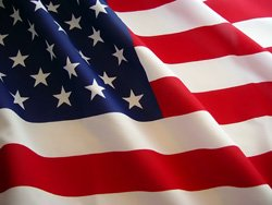 Promotional photo of the American Flag.