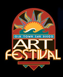 Promotional graphic for the Old Town San Diego Art Festiv...